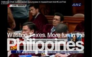 wasting tax payer's money more fun in the philippines