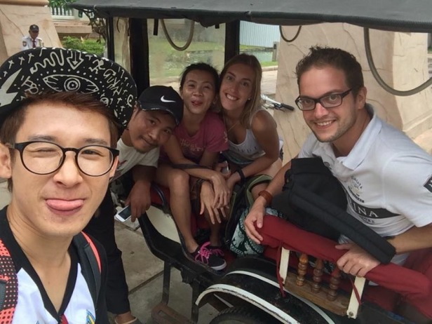 tuktuk selfie